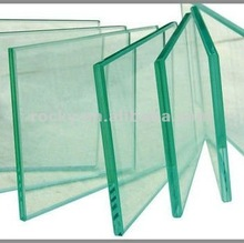 10.38mm clear annealed laminated glass price