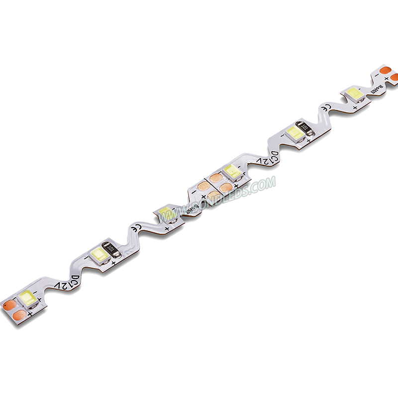 Easy Bend 5M/Roll 10W 300 Flexible tape 5mm wide 2835 s led strip 24v for advertising Letters