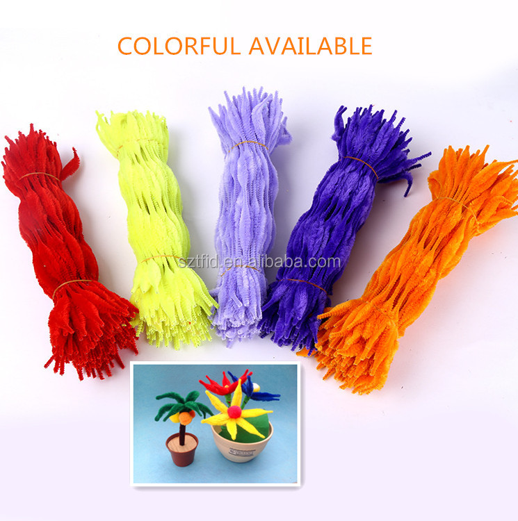 Pipe cleaner for toys & hobbies/Pipe cleaner for gift & crafts/Pipe cleaner for Christmas decoration