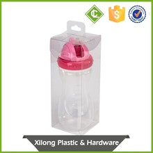 Make To Order Retail Clear Plastic Pvc Pet Folding Packaging Box
