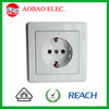 Gemany Type Flush Power Outlet With