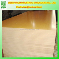 UV high glossy 18mm colored laminated melamine mdf board