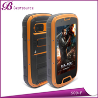 Russian rugged phone S09 1.2GHz 0.3+8MP NFC dual sim 3G android phone
