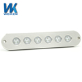 WEIKEN built-in drivers 90w led strip light ip68 anti-corrosion blue underwater boat led lights