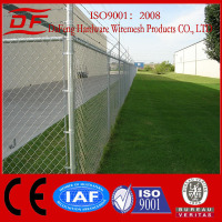 Anping factory direct supply PVC&galvanized chain link fence