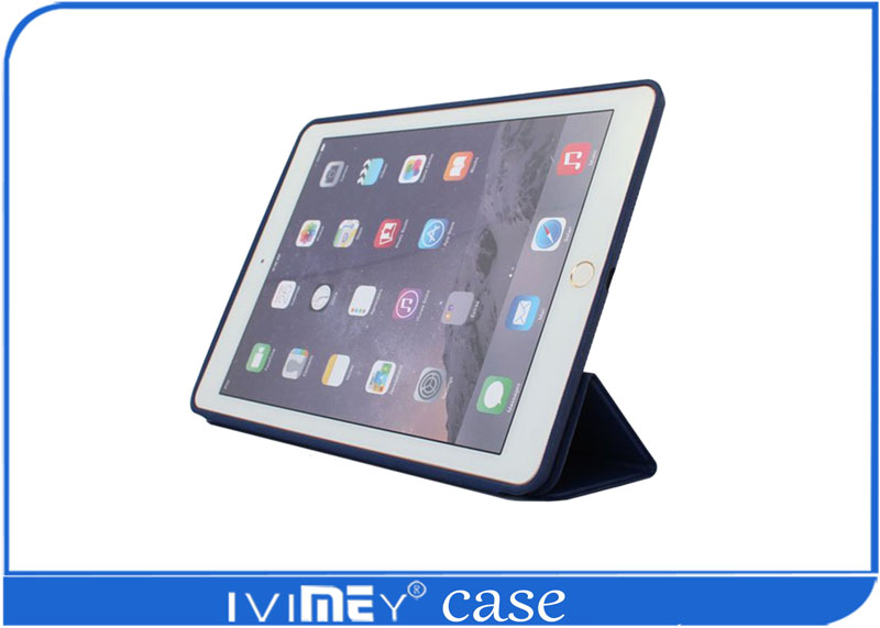 2017 HOT SELLING Stand Smart Cover Leather tablet pc case for Ipad 2/3/4
