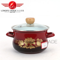 popular sale new china design enamel casserole hot pot wholesale