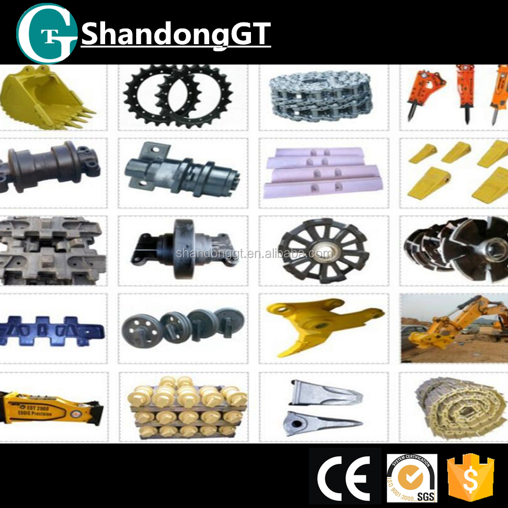 bulldozer D8L/D8N/D8R single/double flange track roller/bulldozer spare parts