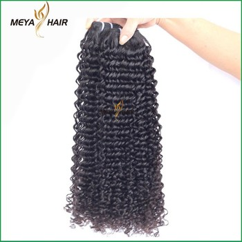 Hot sale Brazilian human hair best virgin hair vendors kinky curly hair bundle