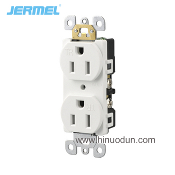 Duplex receptacles 240v 15 amp duplex receptacle with U L certification duplex receptacle wall socket