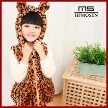 ta50256 Korean children's clothing manufacturers, wholesale winter plus thick velvet kids leopard sweater