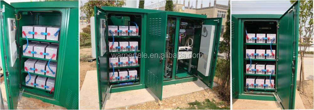 W-TEL OLT telecom communication equipment outdoor cabinet