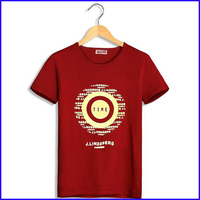 factory supply 100% cotton t-shirts manufacturers new pattern overseas t shirts