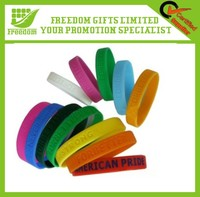 Good Quality Custom Advertising Silicone Bangle