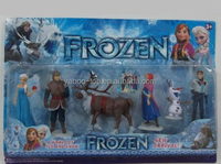 (Promotion) Frozen Elsa Anna Figures, Custom Make Vinyl Action Figure Supplier, OEM PVC Action Figure Manufacturer
