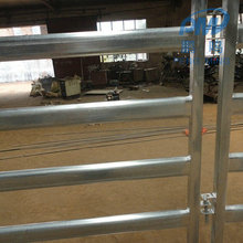 40-60g zinc farm equipment field fence/cattle yard panel/metal horse fence panel