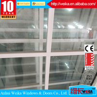 100% PVC grills profiles Length customized for window or door linear pvc profile