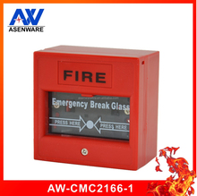 2015 wholesale hottest break glass manual fire alarm call point