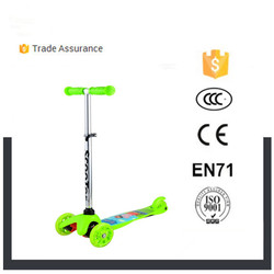 Custom child kick scooter and broad deck child with new pedal kick scooter new professional baby scooter 3 wheel motorcycle