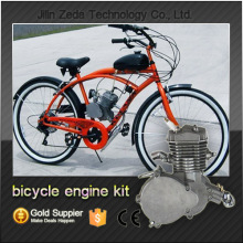 air cooled 2 stroke kick start bicycle gas engine kit /Motorized gasoline bike