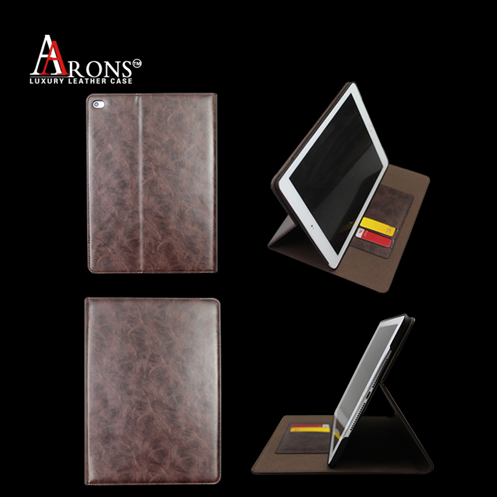 Premium leather case 7 inch tablet case with magnetic