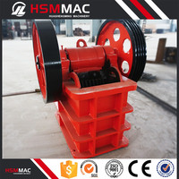 HSM CHINA ISO CE High Technology Jaw Crusher List