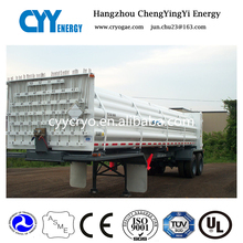 Used Co2 LNG CNG tube transport truck trailer