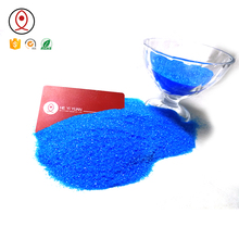 China Origin Copper Sulfate Pentahydrate Crystal CuSO4.5H2O factory selling price