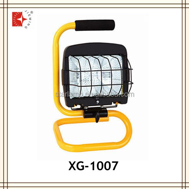 150Watt Halogen Work Light Portable Electrical Hand Lamp S stand lamp UL listed XG-1007