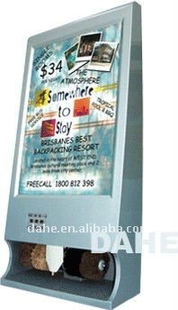 Advertisement Shoe Polisher Machine-DH-DG710 use in bank,market,hotel