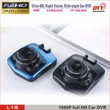 Dash cam 1920x1080 Full HD G-sensor Night Vison car speed recorder,Mini Car DVR Camera,L15