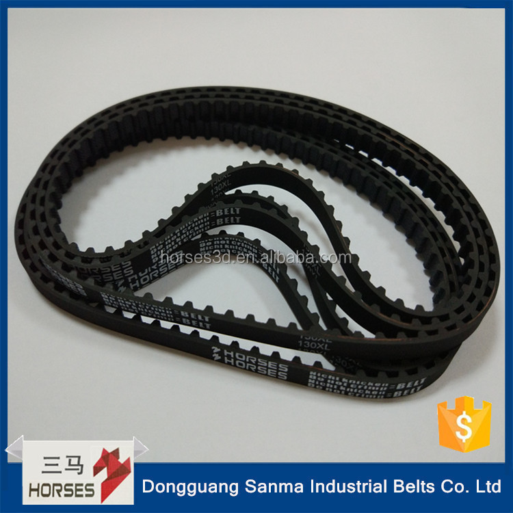 China factory price small rubber belts endless timing belt