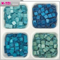 green diy glass mosaic handmade craft