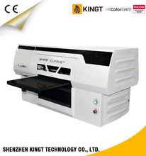 Kingt Ricoh Printhead A3 UV Digital Printing Machine Price