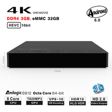Mini M8S PRO HD Amlogic S912 Octa Core 2G RAM 16G or 32GB ROM Smart Android7.0 TV Box Support 5.8G WIFI Set-top Box