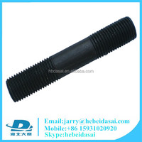 Black Double Threaded Stud Bolt