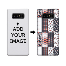 IKFCASE Customized 3d sublimation hard plastic full printing blank phone cover case for samsung galaxy note 8