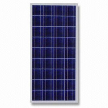 130W poly solar cell solar panel factory from China