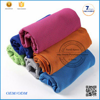 2016 Super absorbent PVA sports cooling towel / PVA cleaning roundie towel wholesale cool ice towel for summer