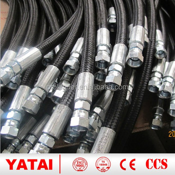China' s the hot selling products SAE 100 R5 machine to make hydraulic rubber hose and auto hose pipe with flexible braids