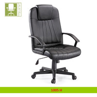 Swivel Height adjustment office PU chair with Dual Wheel Carpet Casters