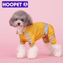 Pet Apparel Reflective Polyester Dog Raincoat For Small Dogs