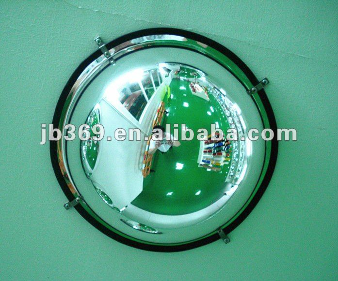 FULL DOME CONVEX MIRROR FOR SHOPPING MALL SAFETY