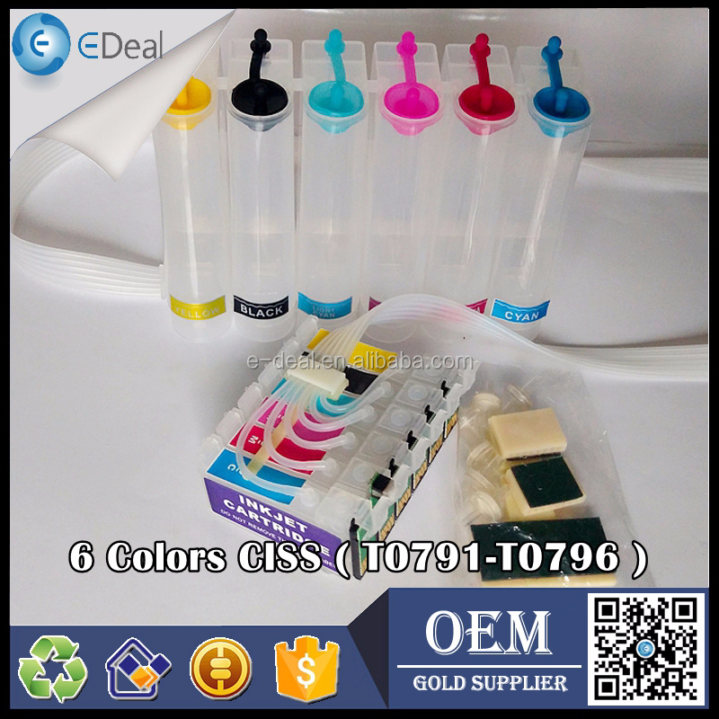 Office equipment refill ink continuous system for Epson 1400 P50 1500W ink tank diy CISS