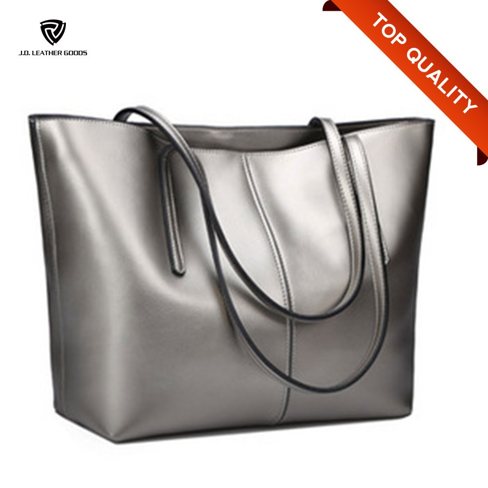 Silver Euramerican Brand Women Handbags Ladies Women Bag