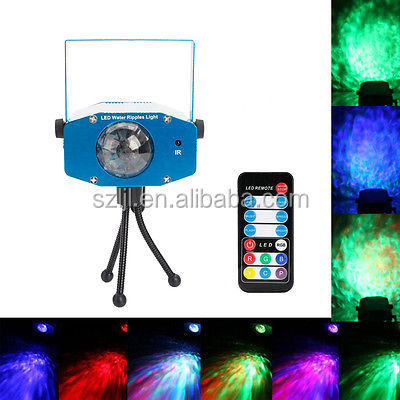 traditional LED stage light RGB color water ripple effect led lighting