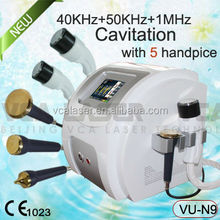 Medical home&spa&salon use slimming fat loss cavitation machine for portable ultrasound