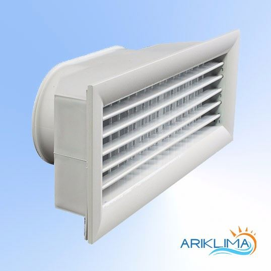 Aluminum no MOQ double deflection adjustable air supply grilles with project sizes DDS