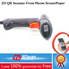 QR code scanner usb readable bar codes from phone screen