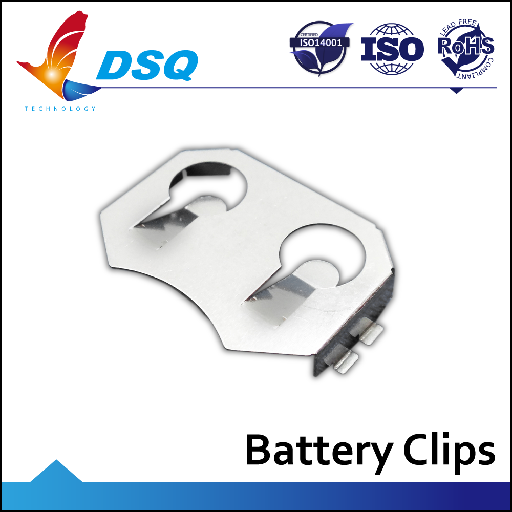 Made in Taiwan cr2032 Battery Holder with Nickel Plating
